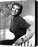 1950s Fashion Canvas Prints - Natalie Wood, Warner Brothers, C Canvas Print by Everett