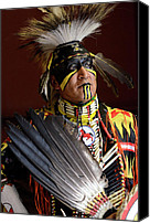 Pow Wow Canvas Prints - Native Pride Canvas Print by Bob Christopher