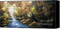 Fine Photography Art Painting Canvas Prints - Nature Beauty 3 Canvas Print by Uma Devi