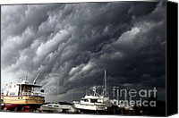 Stormy Canvas Prints - Natures Fury Canvas Print by Karen Wiles