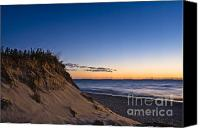 Nauset Beach Canvas Prints - Nauset Beach Sunrise Canvas Print by John Greim