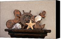 Anchor Canvas Prints - Nautical Still Life III Canvas Print by Tom Mc Nemar