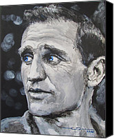 Dean Canvas Prints - Neal Cassady - On The Road Canvas Print by Eric Dee