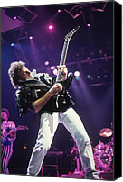 Rich Fuscia Canvas Prints - Neal Schon and Randy Jackson of Journey Canvas Print by Rich Fuscia