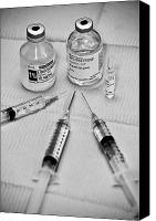 Hypodermic Canvas Prints - Needles 3 Canvas Print by Edward Myers