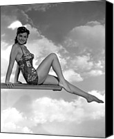 1949 Movies Canvas Prints - Neptunes Daughter, Esther Williams, 1949 Canvas Print by Everett
