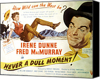 Fid Canvas Prints - Never A Dull Moment, Irene Dunne, Fred Canvas Print by Everett