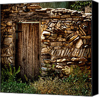 Santa Fe Canvas Prints - New Mexico Door II Canvas Print by David Patterson