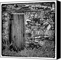 Santa Fe Canvas Prints - New Mexico Door III Canvas Print by David Patterson