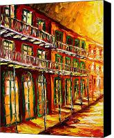 Beata Canvas Prints - New Orleans Heat Canvas Print by Beata Sasik