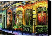 Beata Canvas Prints - New Orleans Original Painting Canvas Print by Beata Sasik