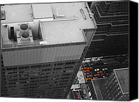 Nyc Photo Canvas Prints - New York Cabs Canvas Print by Irina  March