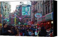 Diversity Canvas Prints - New York Chinese New Year Canvas Print by Jeff Stein
