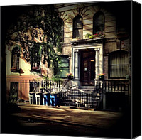 Nyc Canvas Prints - New York City - East Village Canvas Print by Vivienne Gucwa
