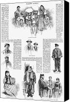 Rabbi Canvas Prints - New York: Immigrants, 1891 Canvas Print by Granger