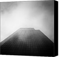Big Apple Photo Canvas Prints - New York Skyscraper Canvas Print by John Farnan