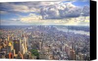 Nyc Canvas Prints - New York State of Mind   High Definition Canvas Print by Mandy Wiltse