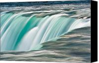 Cliff Canvas Prints - Niagara Falls Number 2 Canvas Print by Steve Gadomski