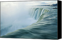Waterfall Canvas Prints - Niagara Falls Canvas Print by Photography by Yu Shu