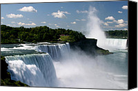 The American Buffalo Canvas Prints - Niagara Falls Canvas Print by Sandy Fraser