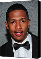 Cipriani Restaurant Wall Street Canvas Prints - Nick Cannon At Arrivals For Operation Canvas Print by Everett