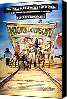 Stella Art Canvas Prints - Nickelodeon, From Left Brian Keith Canvas Print by Everett