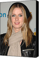 Collaboration Canvas Prints - Nicky Hilton At In-store Appearance Canvas Print by Everett