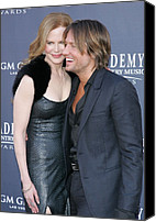 James Atoa Canvas Prints - Nicole Kidman, Keith Urban At Arrivals Canvas Print by Everett
