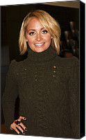 Priceless Canvas Prints - Nicole Richie At In-store Appearance Canvas Print by Everett