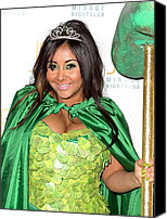 At A Public Appearance Canvas Prints - Nicole Snooki Polizzi Hosts Nightmare Canvas Print by Everett