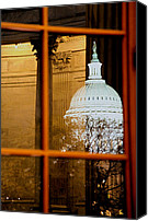 D.c. Canvas Prints - Night Canvas Print by Mitch Cat