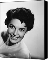 1957 Movies Canvas Prints - Nightfall, Anne Bancroft, 1957 Canvas Print by Everett