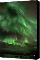 Aurora Borealis Canvas Prints - Nightsky Canvas Print by John Hemmingsen