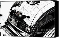 Hotrod Photo Canvas Prints - No. 1 Canvas Print by Luke Moore