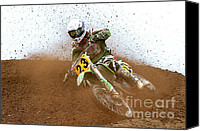 Racing Number Canvas Prints - No. 23 Canvas Print by Jerry Fornarotto