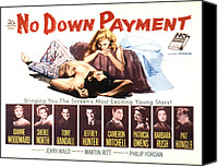 Fid Canvas Prints - No Down Payment, Joanne Woodward Canvas Print by Everett