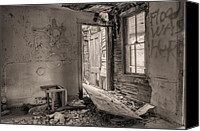 Creepy Canvas Prints - No Way Out II Canvas Print by JC Findley