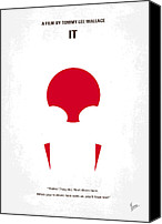 King Digital Art Canvas Prints - No043 My it minimal movie poster Canvas Print by Chungkong Art
