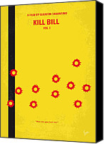 Martial Arts Canvas Prints - No048 My Kill Bill -part 1 minimal movie poster Canvas Print by Chungkong Art