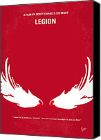 Faith Canvas Prints - No050 My legion minimal movie poster Canvas Print by Chungkong Art