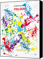 Minimalism Canvas Prints - No065 My Polock minimal movie poster Canvas Print by Chungkong Art