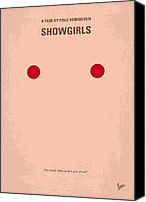 Dancer Digital Art Canvas Prints - No076 My showgirls minimal movie poster Canvas Print by Chungkong Art