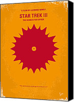 Original Digital Art Canvas Prints - No083 My Star Trek 3 minimal movie poster Canvas Print by Chungkong Art