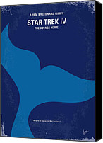Star Canvas Prints - No084 My Star Trek 4 minimal movie poster Canvas Print by Chungkong Art