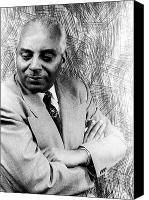 Bandleader Canvas Prints - Noble Sissle (1889-1975) Canvas Print by Granger