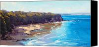 Graham Gercken Canvas Prints - Norah Head Australia Canvas Print by Graham Gercken