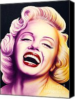 Norma Jean Canvas Prints - Norma Jean Canvas Print by Bruce Carter