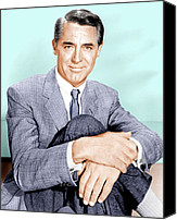 1950s Movies Canvas Prints - North By Northwest, Cary Grant, 1959 Canvas Print by Everett