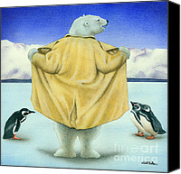 Polar Bear Canvas Prints - Northern Exposure... Canvas Print by Will Bullas