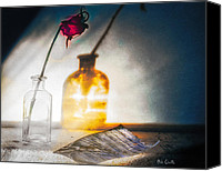 Fantasy Canvas Prints - Notes Forgotten Canvas Print by Bob Orsillo